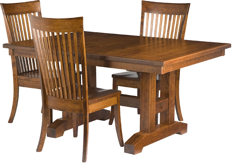 Square Dining Table Square Solid Wood Dining Tables - Square trestle dining table