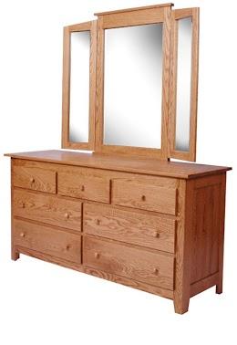 Shaker Horizontal Dresser