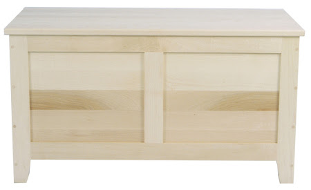 """36"""" wide Shaker Chest in Natural Maple"""