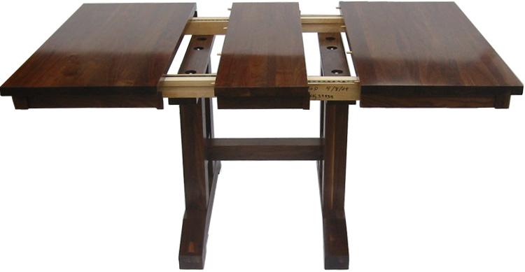 Trestle Dining Room Table Erik Organic - Square trestle dining table