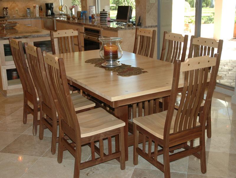 Mission Dining Room Table | Erik Organic