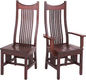 western mission dining chair