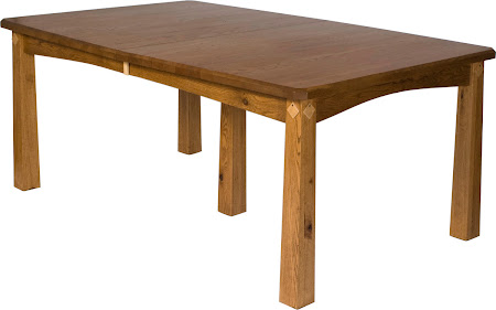 "60"" x 42"" Shaker Table in Rustic Oak"