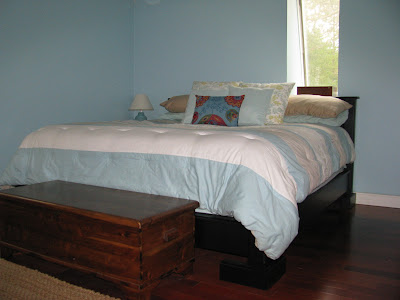 California platform bed
