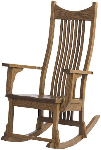 Western Rocking Chair Rocker In The Western Style