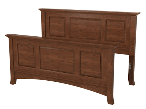 Rochester Bed Frames Solid Wood Bed Frame In The