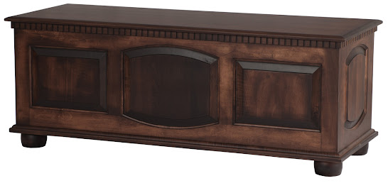 """58 """" Valencia Chest in Onyx Maple"""