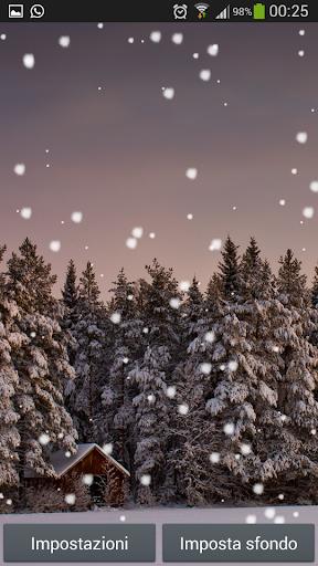 Let It Snow Live Wallpaper