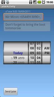 S.i.L send it later (FREE) screenshot