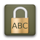 Letter Lock icon