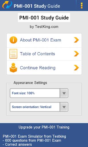 PMI-001 PMP Study Guide