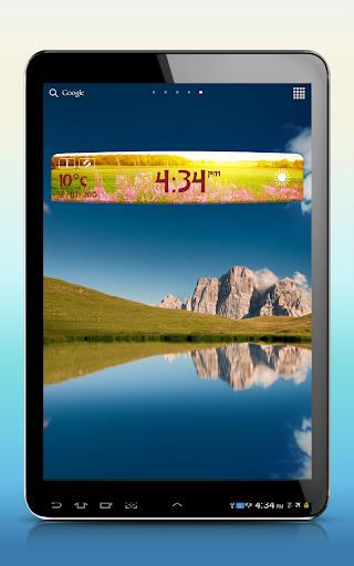 無料天气Appの春天気時計ウィジェット|記事Game