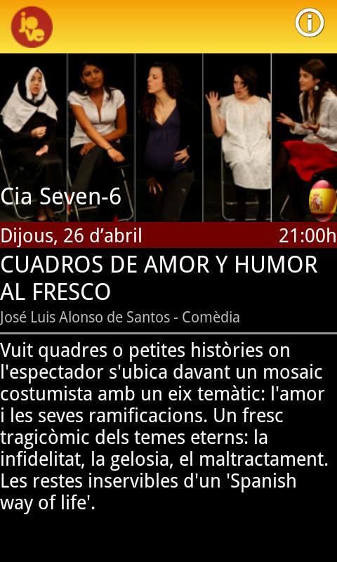 Mostra de Teatre Jove- screenshot