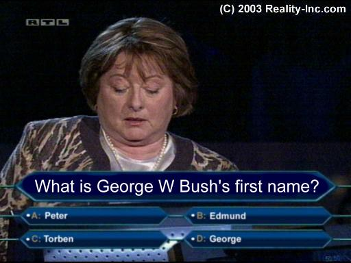 Dumbest person in Who Wants to be a Millionaire (funny)