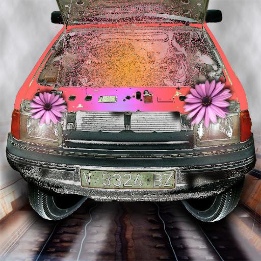 Fotos Gratis Artísticas - El coche hippy