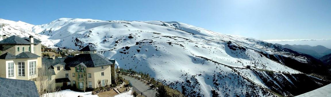 Panorámica de la Sierra Nevada