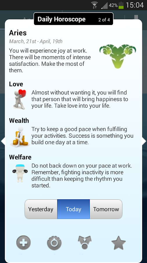Daily Horoscope- screenshot