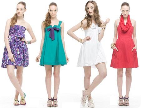 vestidos curtos verão 2011