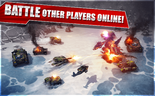 Your units and adventure around the globe completing epic battles