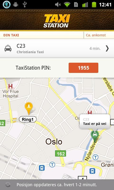 TaxiStation - screenshot