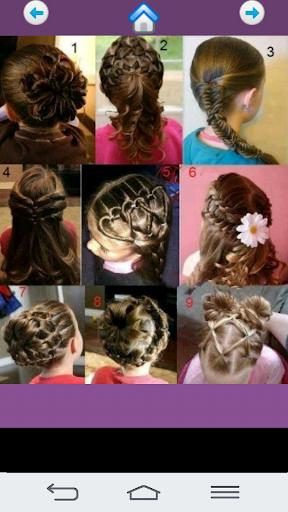 Cute girl hairstyles 2018  screenshots 3