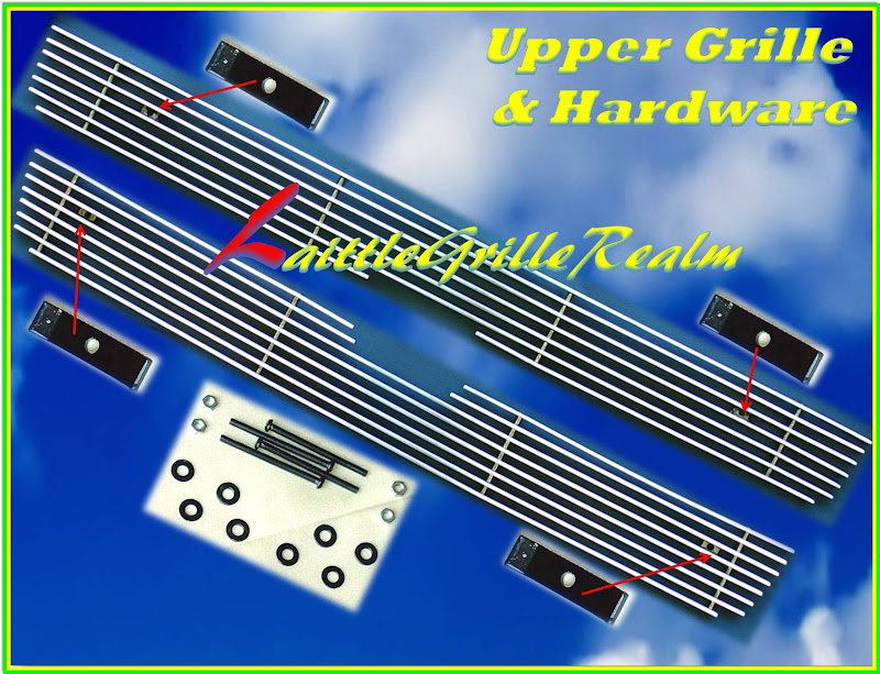06-09 2008 2009 Chevy Trailblazer LT Billet Grille 3PC | eBay