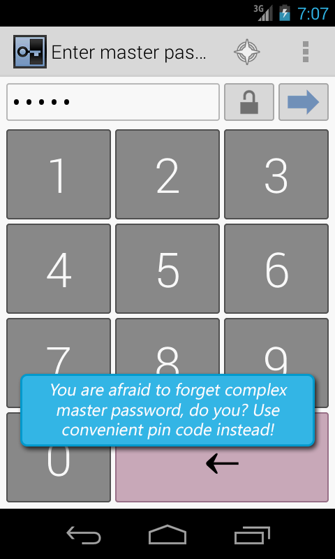 Secure Vault, Password Manager - screenshot