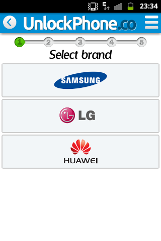 Unlock Samsung, Huawei, LG  screenshots 2
