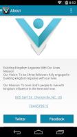 Screenshot of Legacy Church Experience