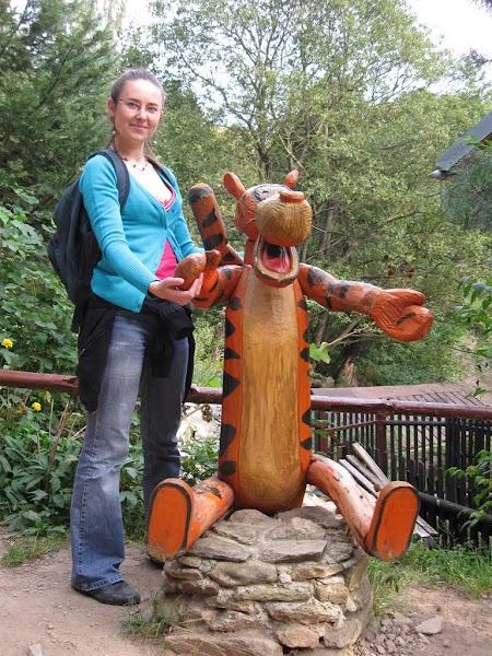 Tygrysek w Ogrodzie Bajek w Międzygórzu