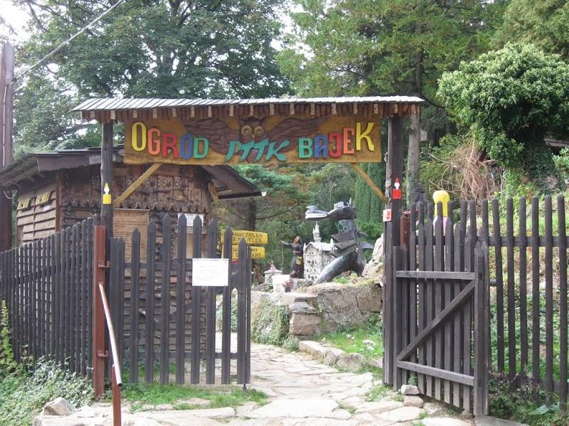 Wejście do Ogrodu Bajek