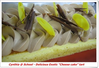 blog - Delicious exotic cheesecake tart 2