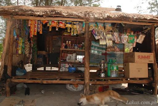 Sari-sari Store in Nagsasa Cove