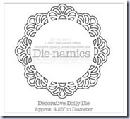 SMDecorative Doily Die-namics
