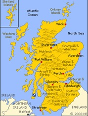 kintyre map