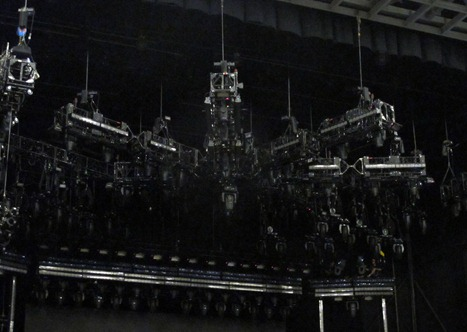 Rush's Lighting Rig