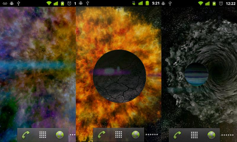 Endless Universe LWP Free - screenshot
