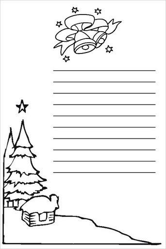 Carta Papa Noel Modelos Carta A Papa Noel Para Imprimir - Papa-noel-para-imprimir