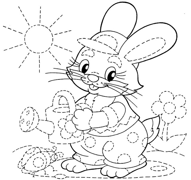 Dibujos Repasar Lineas Dibujos Preescolar
