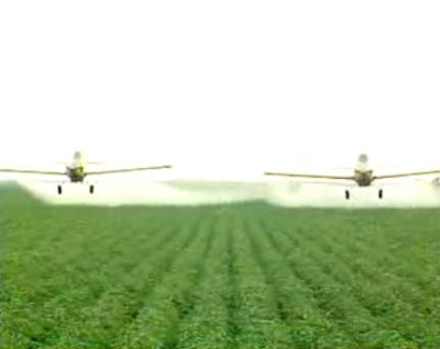 Aussie crop dusters