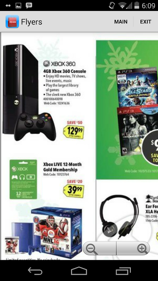 Shopping Flyers Canada - screenshot