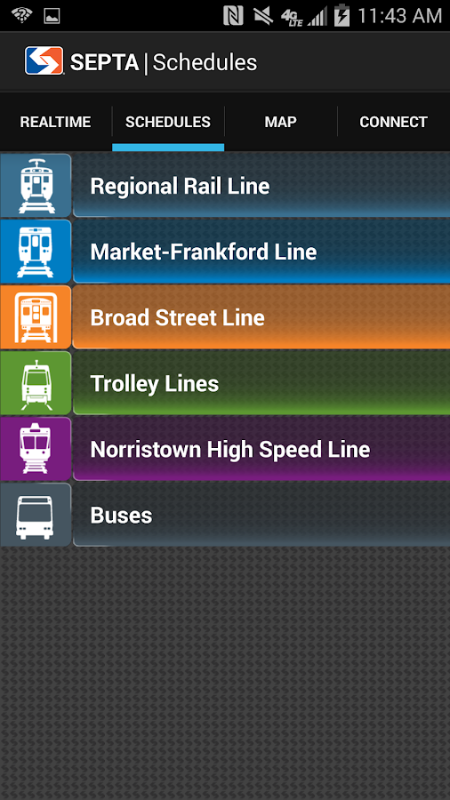 SEPTA - screenshot