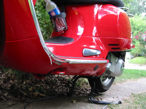 Modern Vespa Side Bars Saved My Bike