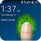 Lock Screen fingerprint joke