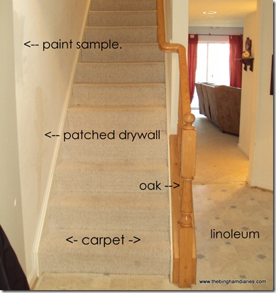 stairs in foyer