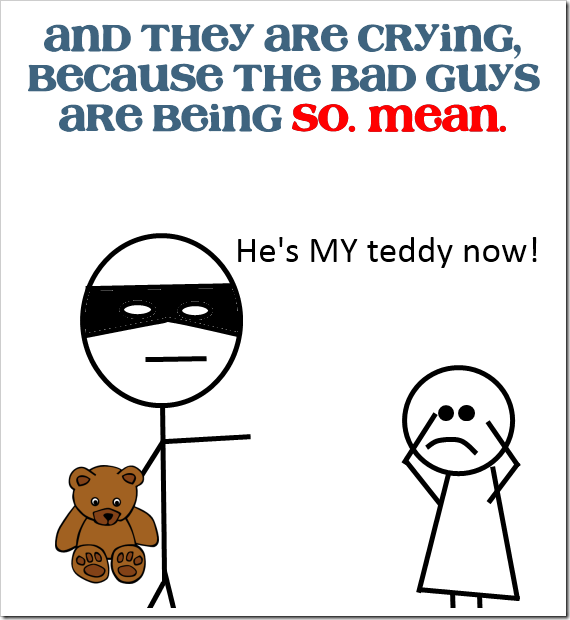 bad-guys-are-being-mean