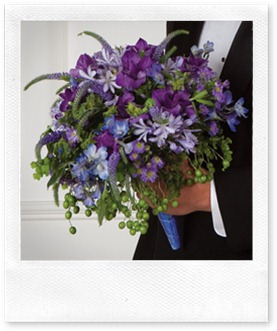 dark purple bouquet