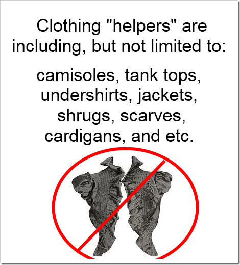 clothing helpers