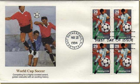 1994 World Cup Soccer Held In USA Fleetwood FDCs