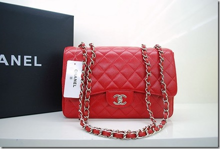 Chanel Bag A47600 Flap Red Caviar